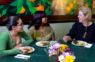 Reagruparse con amigos a través de un sabroso almuerzo.